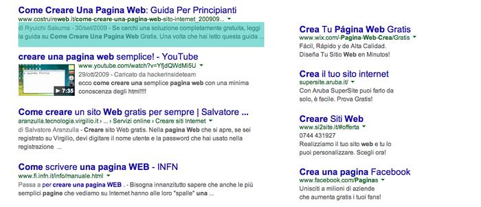 risultati-google-google