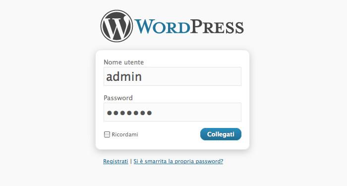 wordpress guida